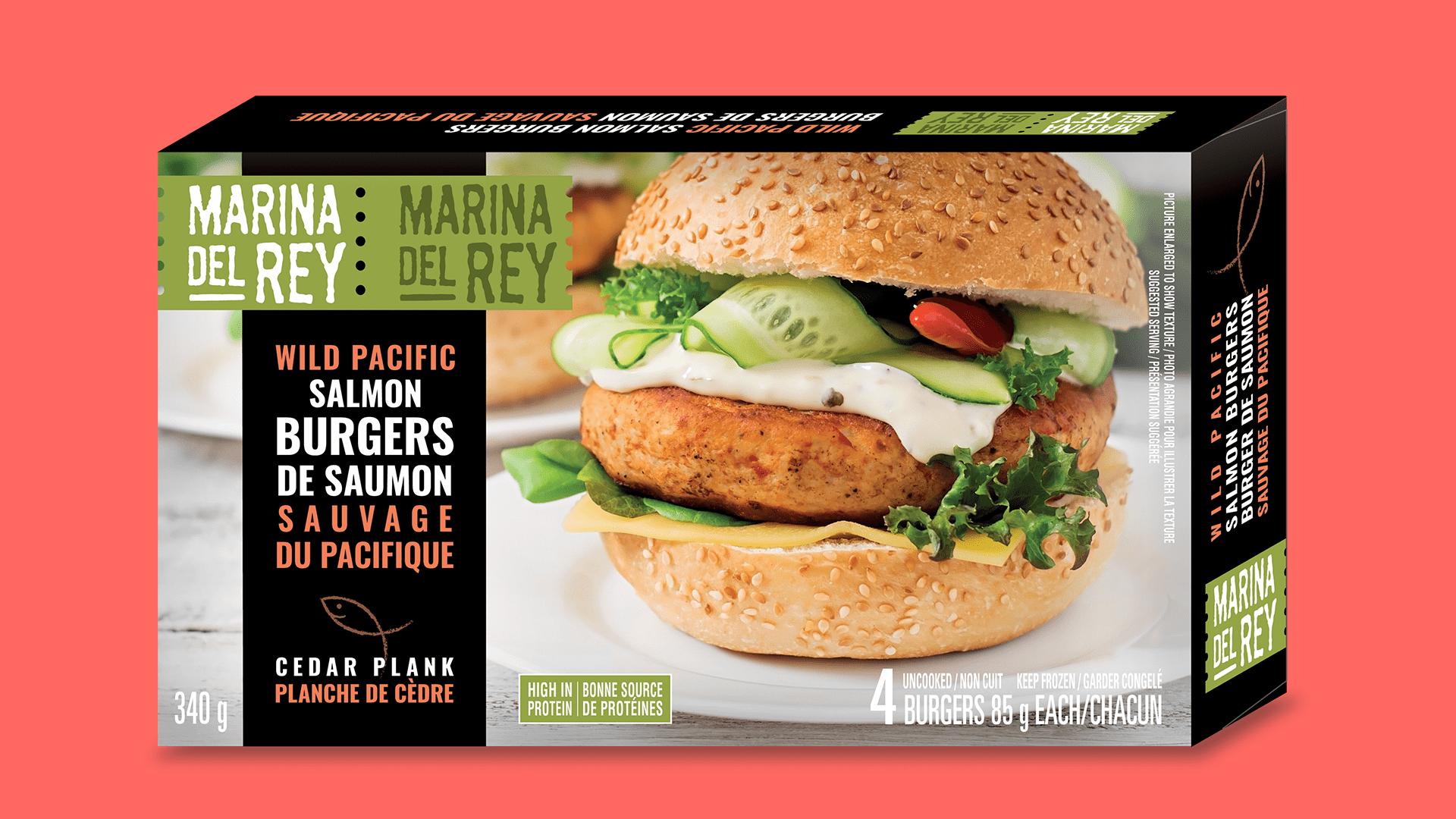 Wild Pacific Salmon Burgers