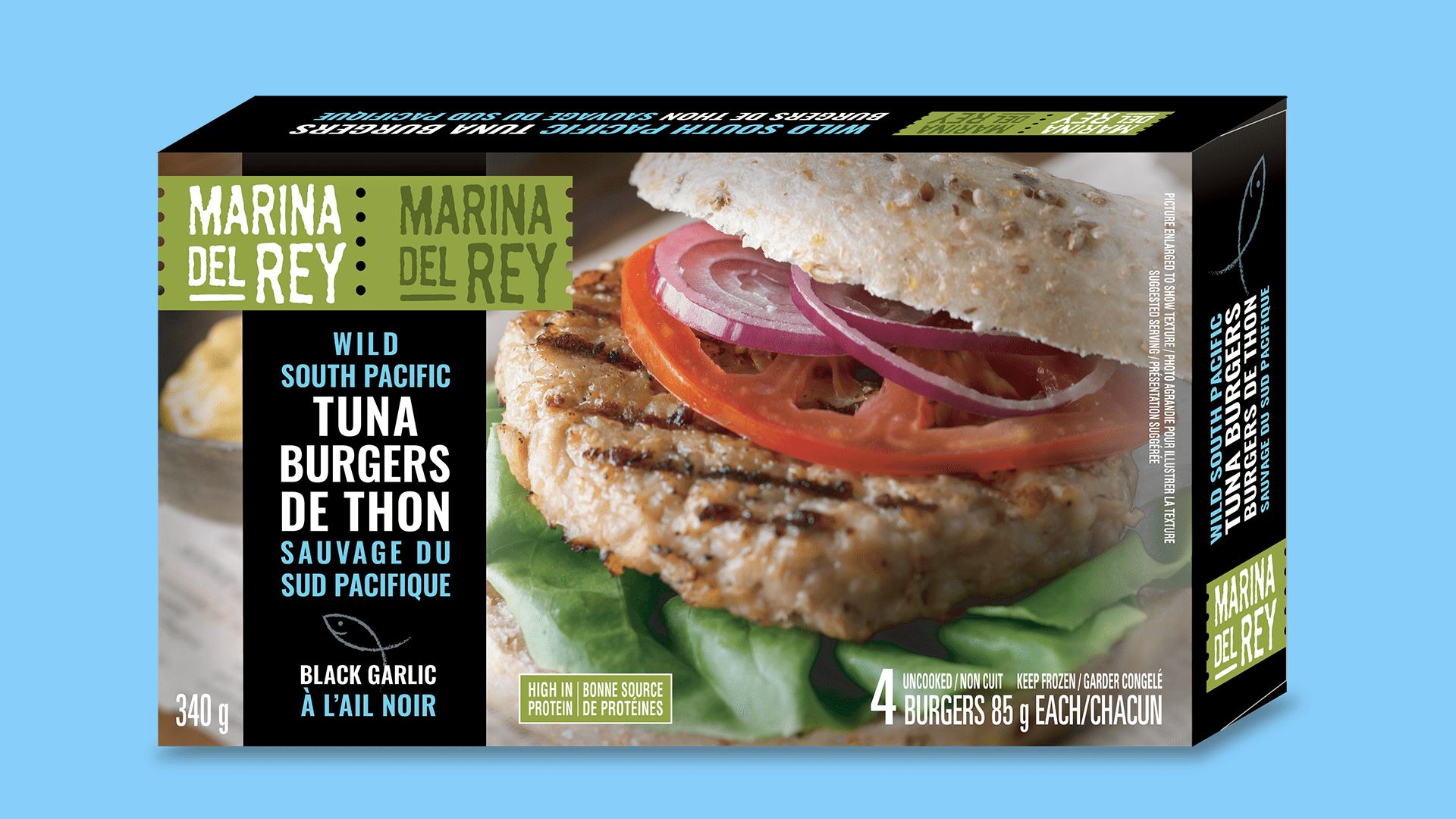 Wild South Pacific Tuna Burgers